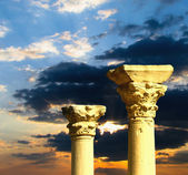 Antique columns — Stock Photo