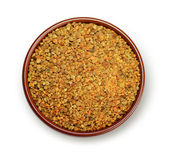 Bee pollen granules — Stock Photo