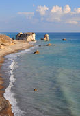 Aphrodite Rock beach, Cyprus — Stock Photo