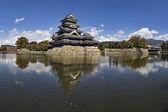 Karga kalesi, matsumoto, japonya — Stok fotoğraf