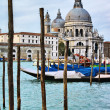 Santa Maria della Salute church - Stock Photo
