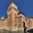 Castello Ducale in Ferrara - Stock Photo