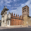 Mantova Cathedral - Stock Photo