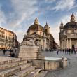 Piazza del Popolo, Roma — Stock Photo #2670361