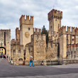 Sirmione Castle, Italy - Stock Photo