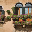 Stock Photo: Windows in Venice