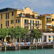 Sirmione lakeside - Stock Photo