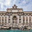 Trevi Fountain — 图库照片