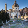 Forum of Trajan - Foto de Stock