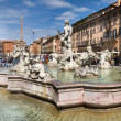 Fountain, Piazza Navona, Roma, Italy — Stock Photo