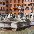 Fountain, Piazza Navona — Stock Photo