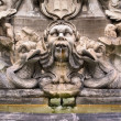 Fountain, Piazza della Rotonda — Stock Photo