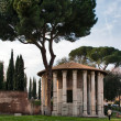 Temple of Hercules — Stock Photo