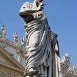 St. Peter' Statue, Vatican — Stock Photo