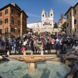 Piazza di Spagna - Stock Photo