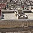 Model of Jerusalem Temple — Stock Photo