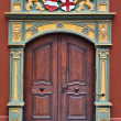 Gothic style door — Stock Photo #2679309