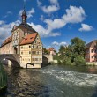 Bamberg Altes Rathaus — Stock Photo