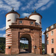 Alte Brucke gate, Heidelberg — Stock Photo