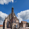 Frauenkirche, Nuremberg - Stock Photo