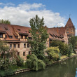 Stock Photo: Nuremberg Old City