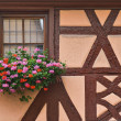Timber-frame window - Stock Photo