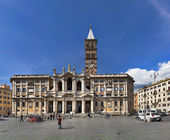 Santa Maria Maggiore, Roma, Italy — Stock Photo