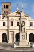 San-Bartolomeo church, Roma — Stock Photo