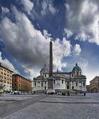 Santa Maria Maggiore church, Roma — Stock Photo