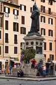 Giordano Bruno monument — Stock Photo