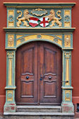 Gothic style door — Stock Photo