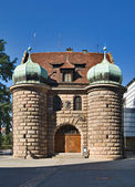 Town Gate, Nuremberg — Stock Photo