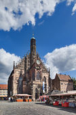Frauenkirche, Nuremberg — Stock Photo