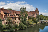Nuremberg Old City — Stock Photo