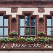 Windows in Freiburg — Stock Photo