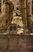 Virtues fountain, Nuremberg — Stock Photo