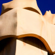 Symbol of Barcelona. Chimneys, Gaudi — Stock Photo