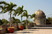 Colonial Wall of Cartagena de Indias. — Stock Photo