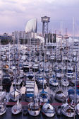 The port of Barcelona — Stock Photo