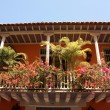 Detail of colonial house. Cartagena — Stock Photo #2679179