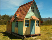 Andean Cottage — Stock Photo