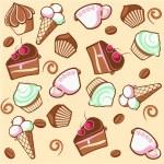 Coffee dessert — Stock Vector #2573731