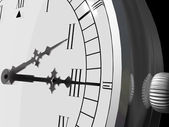 Clock Close Up — Stockfoto