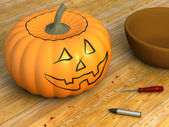 Pumpkin For Carving — Stock Photo