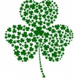 Clovers' Clover — Stock Vector