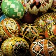 Stacked Pysanky — Stock Photo