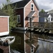 Stock Photo: Steveston Heritage Homes