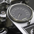 Royalty-Free Stock Photo: Large Motor Cycle speedometer Dial