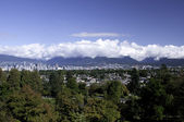 View from Queen Elizabeth Park — Stock Photo