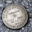 Elevation Marker — Stock Photo #2685650